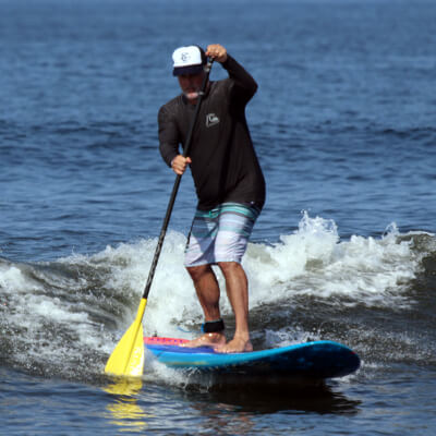 SUP 'n' Surf Retreats for Veterans with Jim Bartelloni, USNA '90