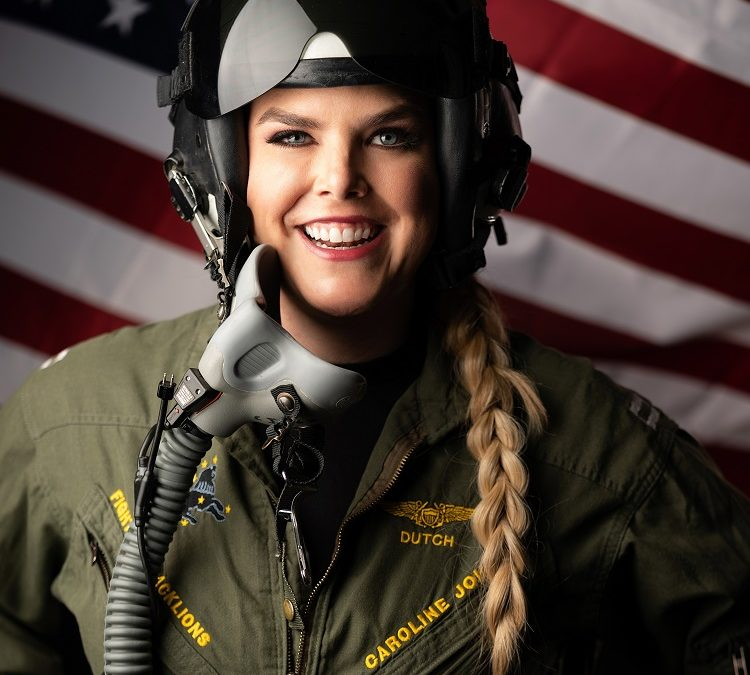 From Flying Jets to Becoming an Author and Keynote Speaker with Caroline Johnson, USNA '09