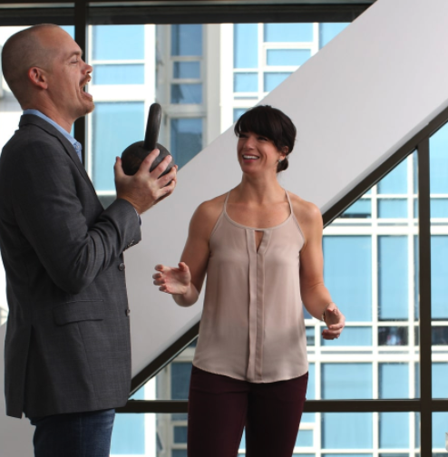 Becoming Happier and Healthier at Work with Theresa Larson & Jon Macaskill, USNA '01